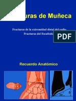 Muñeca - Fracturas