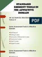 Affective Assessment Tools
