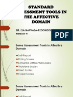 Affective Assessment Tools