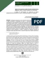 ARBITRAGEM COMO MEIO DE SOLUÇÃO DE CONFLITOS NOS CONTRATOS DA ADMINISTRAÇÃO PÚBLICA - LIMITES, FORMA E MOMENTO DE PREVISÃO.pdf