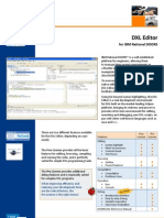 DXL Editor - The Smartest Editor for Rational DOORS DXL