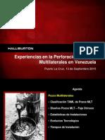 Experiencias en La Perforación de Pozos Multilaterales