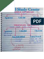 Epithelium Notes[Histology] by Medical Study Center
