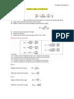 Formulario Concreto II Parcial