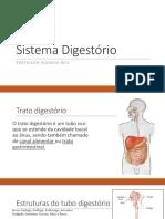 Sistema Digestório, Respiratorio, Nervoso e Sensorial