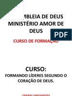 TABERNÁCULO LICÃO 1