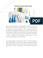 Análisis Del Estado Financiero Método Vertical