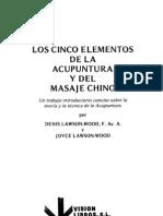Los 5 Elementos de La Acupuntura y Del Masaje Chino