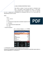 Capacidad Portante Del Suelo Con Hp Prime y Programas Para El Hp Prime
