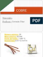Diapositiva Cobre
