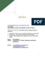 Profile - AVNISH SHUKLA-ADVOCATE