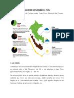 Regiones Naturales Del Perú