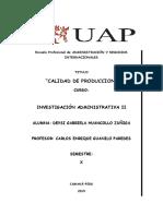 Nvestigacion Administrativa II