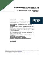 HINTZE - La Evaluación de La Efectividad de Las Organizaciones