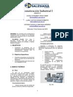 Informe Practica o Automatización