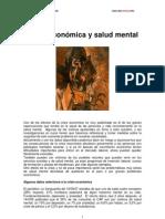 Crisis Economica y Salud Mental