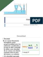 Clase de Hidrostatica