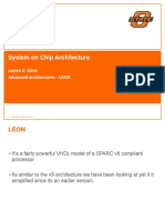 System on Chip Architecture Design Lecture20