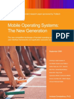 Mobile Operating Systems the New Generation