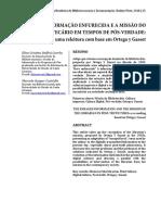 Glossário de Termos Técnicos Em Ciência Da Informação