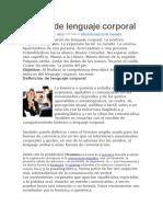 Recopilación de información sobre Manual de lenguaje corporal.docx