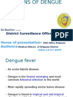 INFECTIONS OF DENGUE VIRUSES IN BELGAUM, KARNATAKA AND INDIA, DENGUE IN BELGAUM