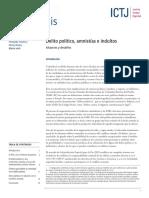 ICTJ Analisis Colombia Delito Politico