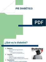 expo pie diabetico