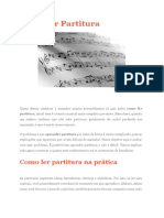 Pedro Bianchie - Leitura de Partitura