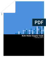 Bulk Water Supply Code