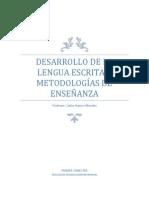Cuaderno Desarrollo de la lengua escrita y metodología de la enseñanza.pdf