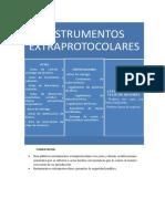 instrumentos extraprotocolares
