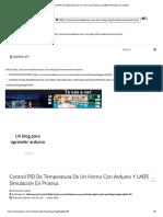 Control PID de temperatura de un horno con Arduino y LM35 simulación en proteus.pdf