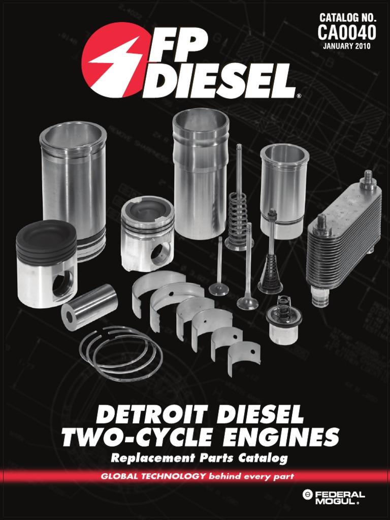 Made to fit A-5117564 Guide Valve Bridge Detroit Diesel