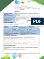Guía de actividades y rúbrica de evaluación - Actividad 3 - Desarrollar fase de campo..docx