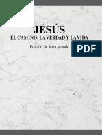 JESUS CAMINO VERDA Y VIDA LETRA GRANDE