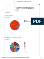 Market Analysis of Cement Industry (Jankipuram Ext.)