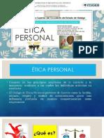 Etica Personal Exposicion