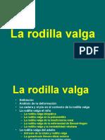 La Rodilla Valga