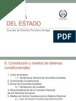 Constitución y Medios de Defensa Constitucionales