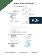 FÓRMULAS PARA CÁLCULO VETORIAL E ELETROMAGNETISMO.pdf