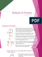 Lec 14, Analysis of Frames