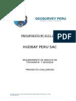 PRESUPUESTO HUDBAY PERU SAC (NORSEMON) PROY CHILLOROYA N`111.doc