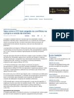 ConJur - Veja Como o STJ Tem Julgado Os Conflitos Na Venda de Imóveis