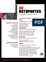 Pimer Catalogo/Autopartes/Julio 2019