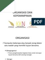 Organisasi Dan Kepemimpinan