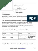 11 Chemistry Imp Ch1 1