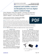 PBL in the development and stability control of an UAV with interdisciplinarity between digital control and computer assisted design