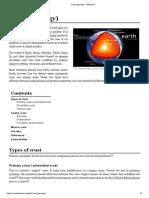 Crust (Geology) - Wikipedia