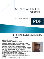 Surgical Indication for Stroke